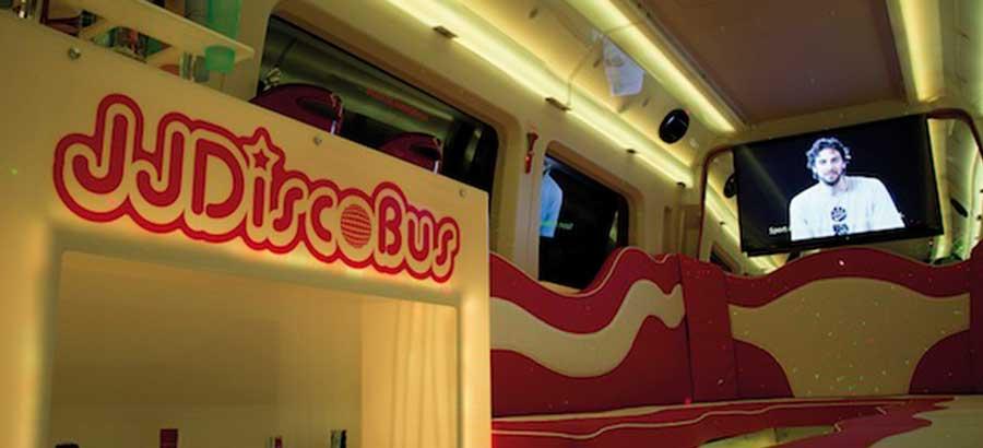 Minibus de fiesta alquilar