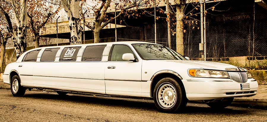 Alquilar Lincoln Town car Madrid
